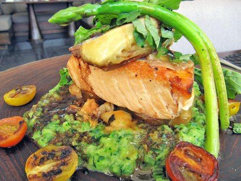 Tasmanian Salmon cooked sous vide