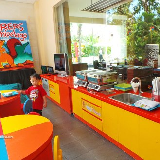 Kids-dine-area