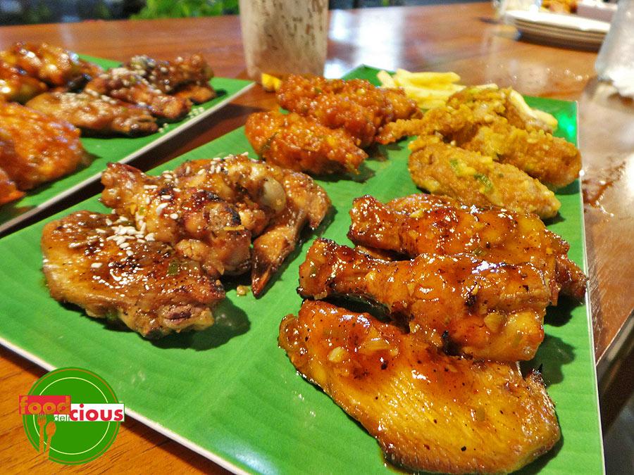Teriyaki & Honey BBQ