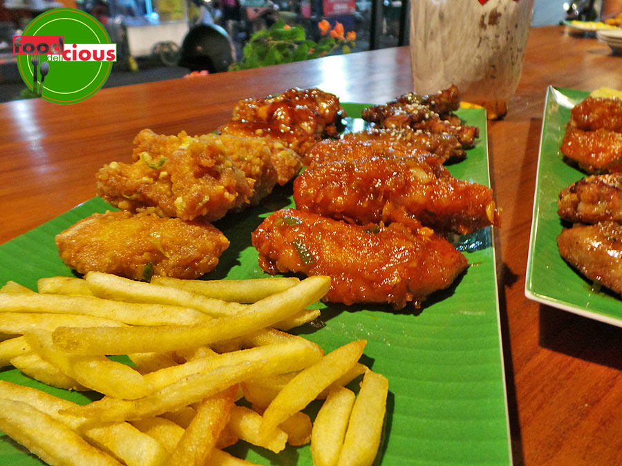 Buffalo Wings & Salted Egg