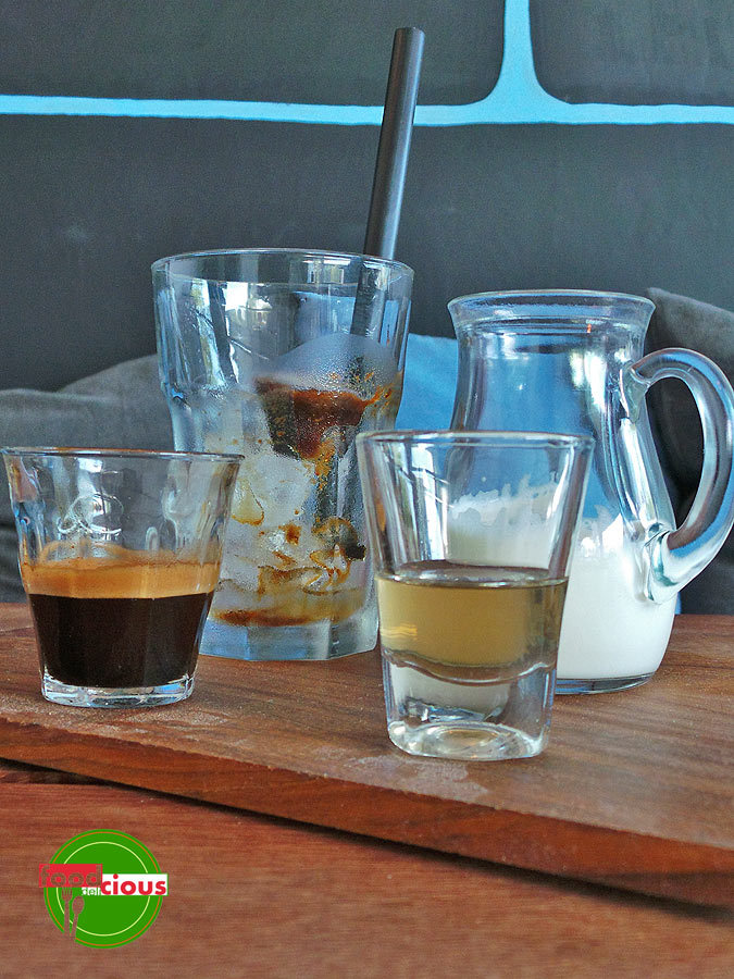 Deconstructed Ice Coffee