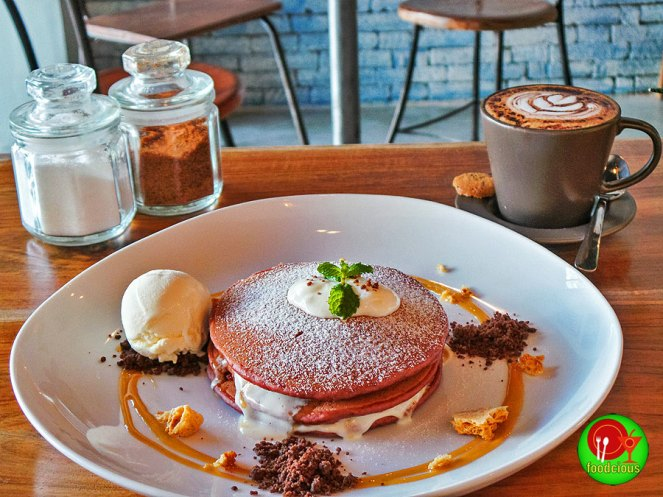 Red Velvet Pancake