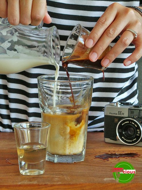 Deconstructed Ice Coffee