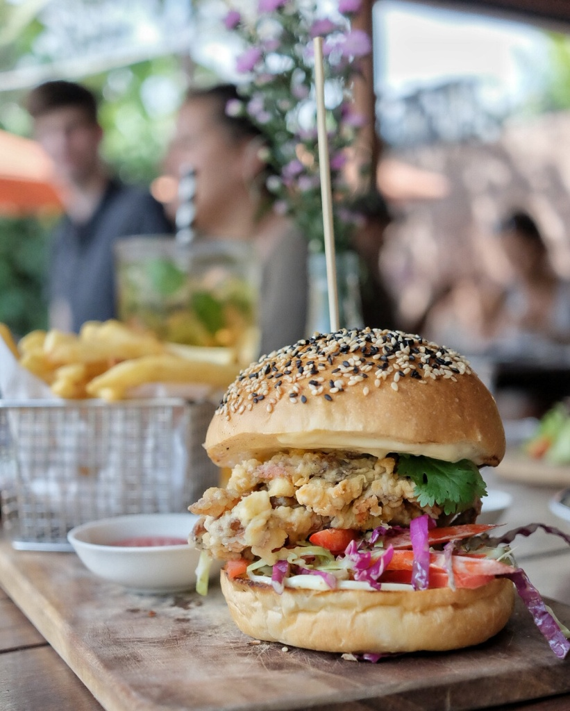 Tempura Soft Shell Crab Burger