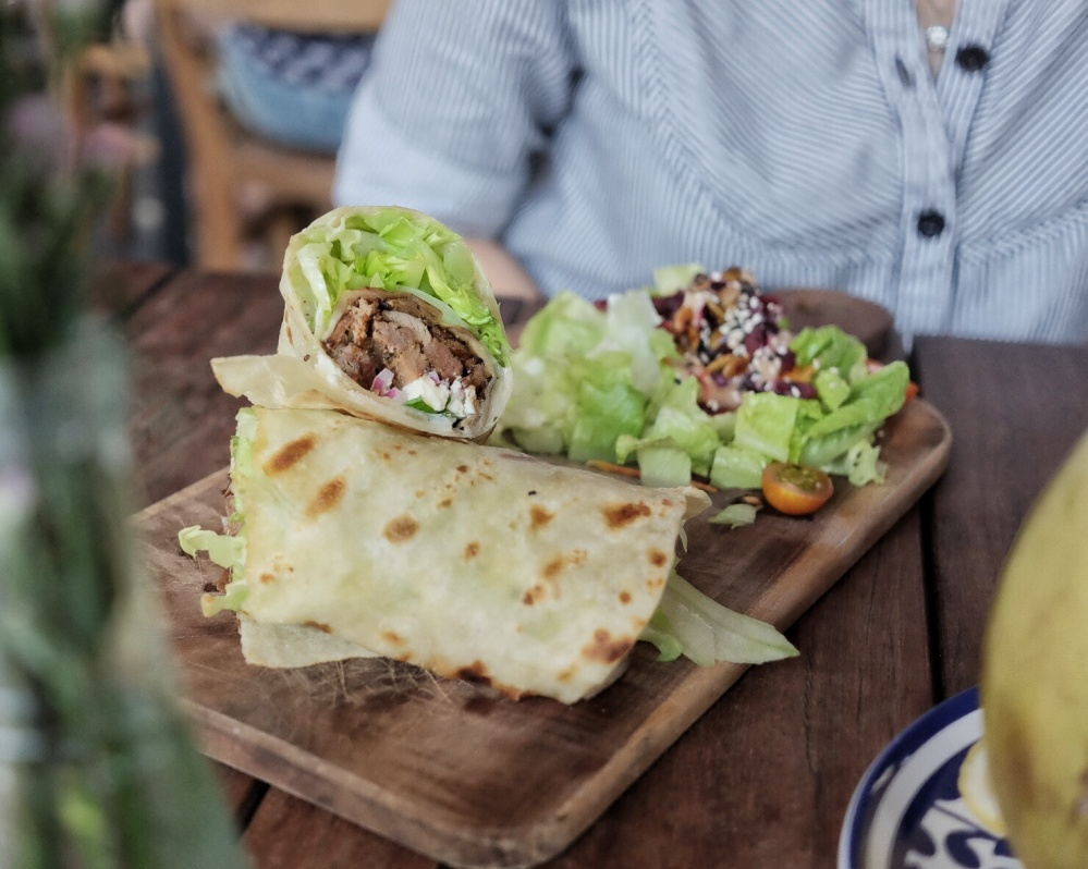Roast Lamb Wrap
