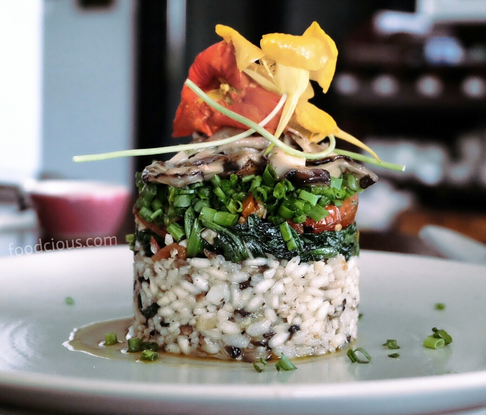 Risotto Veggie Tower