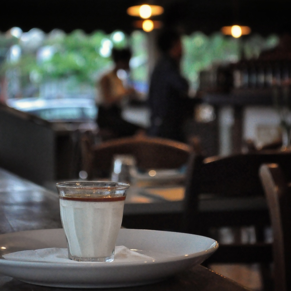 Foodcious Food Blog Review at La Gastronomia Restaurant Bali Pannacotta al Cocco