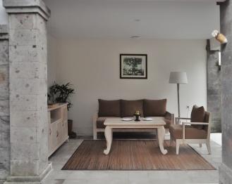 Living Room Villa Visesa Ubud Bali