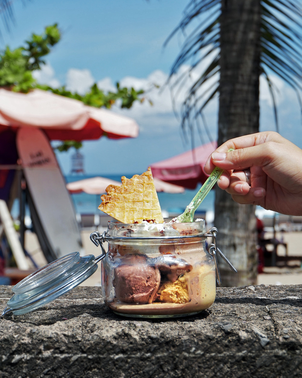 best gelato in seminyak