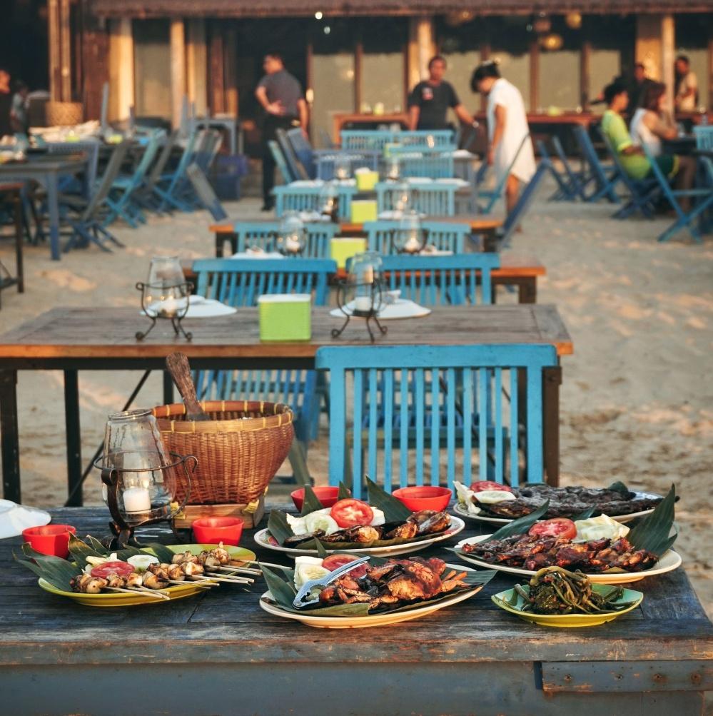 Teba Cafe Jimbaran Seafood Bali