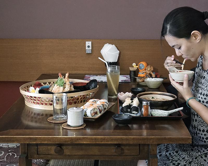 Seminyak authentic japanese cuisine ichii japanese for Authentic japanese cuisine